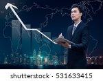 business growth concept ...   Shutterstock . vector #531633415