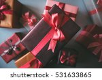 design boxes gifts. | Shutterstock . vector #531633865