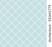 quatrefoil wave pattern... | Shutterstock .eps vector #531641779
