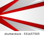 abstract corporate red and grey ... | Shutterstock .eps vector #531657505