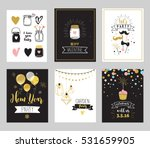 chick party glitter greeting... | Shutterstock .eps vector #531659905