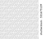 hexagonal grid pattern seamless ... | Shutterstock .eps vector #531675139