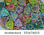 colorful christmas collection   ... | Shutterstock . vector #531676015