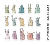 Funny Rabbits Collection For...