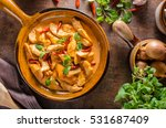 delicious curry homemade  with... | Shutterstock . vector #531687409