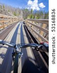 first person view riding... | Shutterstock . vector #53168836
