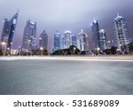 city avenue with modern... | Shutterstock . vector #531689089
