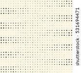 seamless dots pattern. vector... | Shutterstock .eps vector #531694471