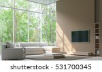 modern living room decorate... | Shutterstock . vector #531700345
