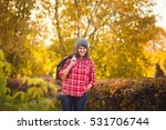 portrait of a young fashionable ... | Shutterstock . vector #531706744