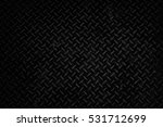 Small photo of Black Metal Diamond Plate Texture Background.
