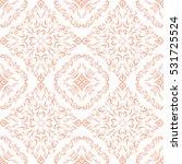 damask seamless classic pattern.... | Shutterstock .eps vector #531725524