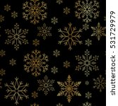 snowflake simple seamless... | Shutterstock .eps vector #531729979