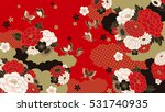 japanese background | Shutterstock .eps vector #531740935
