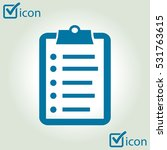check list vector icon. flat...