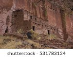 Puye Cliff Dwellings  The Ruins ...