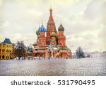 St. Basil's Cathedral Winter...