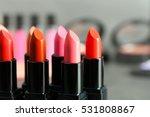 Lipsticks In Different Shades ...