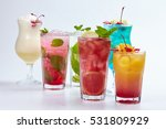 summer drink | Shutterstock . vector #531809929