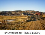 Rustic Landscape With An Old...