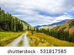 mountain road landscape | Shutterstock . vector #531817585