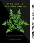 recreational marijuana cannabis ... | Shutterstock .eps vector #531818785