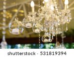 crystla chains and glass balls... | Shutterstock . vector #531819394