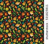 festa junina village festival... | Shutterstock . vector #531825811