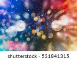 Christmas Abstract De Focused