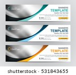 abstract web banner design... | Shutterstock .eps vector #531843655