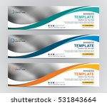 abstract web banner design... | Shutterstock .eps vector #531843664