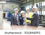 team of business people... | Shutterstock . vector #531846091