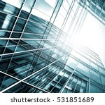 panoramic and perspective wide... | Shutterstock . vector #531851689