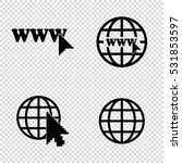 internet    vector icons  set | Shutterstock .eps vector #531853597