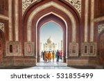 taj mahal | Shutterstock . vector #531855499