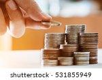 saving money concept preset by... | Shutterstock . vector #531855949