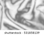 black and white halftone... | Shutterstock . vector #531858139