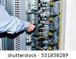 electrician near the low... | Shutterstock . vector #531858289