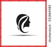 woman icon vector illustration... | Shutterstock .eps vector #531869485