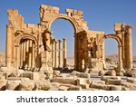Ruins Of Ancient City Of...