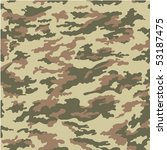 vector forest camouflage  ... | Shutterstock .eps vector #53187475