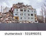 Demolition Of Buildings In...