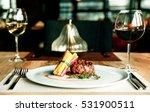 beef  tenderloin  white wine... | Shutterstock . vector #531900511