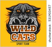 wild cats sport team   logotype ... | Shutterstock .eps vector #531903457