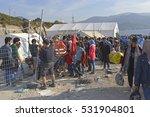 lesvos  greece  october 05 ... | Shutterstock . vector #531904801