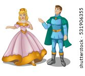 dolls of the prince and...   Shutterstock .eps vector #531906355