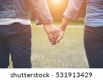 close up of loving couple... | Shutterstock . vector #531913429