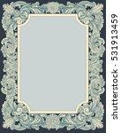 victorian baroque floral...   Shutterstock .eps vector #531913459