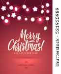 merry christmas and new year... | Shutterstock .eps vector #531920989