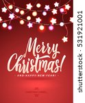 merry christmas and new year... | Shutterstock .eps vector #531921001